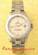 Rolex Yachtmaster White Face 1