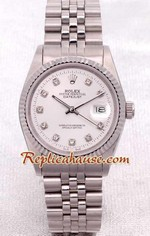 Rolex DateJust Silver Face 1