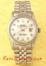 Rolex DateJust White Face 2