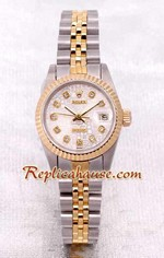 Rolex DateJust Two Tone Ladies - 18