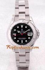 Rolex Yachtmaster Black Face 2
