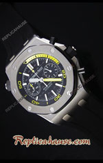 Audemars Piguet Royal Oak Offshore Diver Chronograph Swiss Watch 20