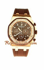 Audemars Piguet Royal Oak Offshore Alinghi Replica Watch - Mid Sized 4