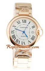 Ballon Blue De Cartier Pink Gold Watch 03