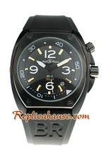 Bell and Ross BR 02 Carbon Replica Watch 06