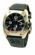 Bell and Ross BR 02 Pink Gold Replica Watch 02