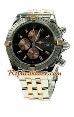 Breitling Chronomat Evolution Two Tone Watch 04