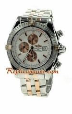Breitling Chronomat Evolution Two Tone Watch 05