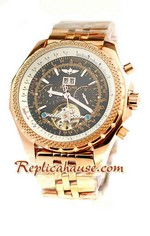 Breitling for Bentley Tourbillon Replica Watch 19