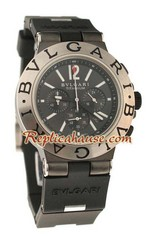 Bvlgari Scuba Swiss Body - Japanese Quartz Movement Replica Watch 07