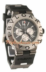 Bvlgari Scuba Swiss Body - Japanese Quartz Movement Replica Watch 08