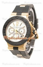 Bvlgari Diagono Swiss Replica Watch 22