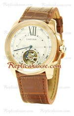 Calibre de Cartier Flying Tourbillon Replica Watch 01