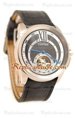 Calibre de Cartier Flying Tourbillon Replica Watch 09