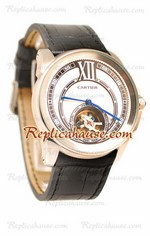 Calibre de Cartier Flying Tourbillon Replica Watch 10