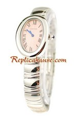 Cartier Baignoire Ladies Replica Watch 6<font color=red>หมดชั่วคราว</font>