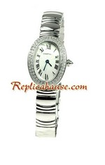 Cartier Baignoire Ladies Swiss Replica Watch 01<font color=red>หมดชั่วคราว</font>
