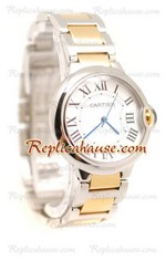 Cartier De Balloon Swiss Replica Watch - Mens 04