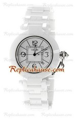 Cartier De Pasha Ceramic Replica Watch 02
