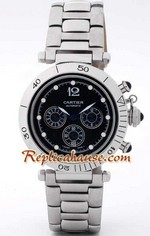 Cartier De Pasha Replica Chrono Watch 3