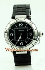 Cartier De Pasha SeaTimer Watch 1