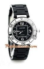 Cartier De Pasha Seatimer Swiss Replica Watch 1