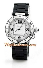 Cartier De Pasha Seatimer Swiss Replica Watch 2