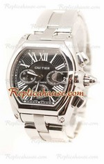 Cartier Roadster Chronograph Swiss Replica Watch 01