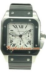 Cartier Santos 100 Swiss Replica Watch 12