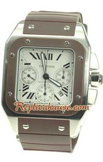 Cartier Santos 100 Swiss Replica Watch 13