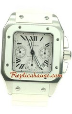 Cartier Santos 100 Swiss Replica Watch 14