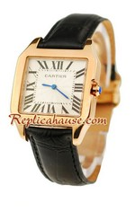 Cartier Santos 100 Ladies Replica Watch 02<font color=red>หมดชั่วคราว</font>