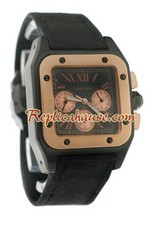 Cartier Santos 100 Replica Watch 09