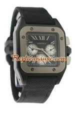 Cartier Santos 100 Replica Watch 10