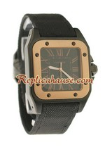 Cartier Santos 100 Replica Watch 11