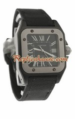 Cartier Santos 100 Replica Watch 12