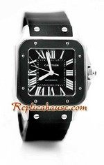Cartier Santos 100 Replica Watch 03