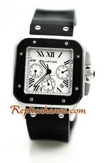 Cartier Santos 100 Replica Watch 05