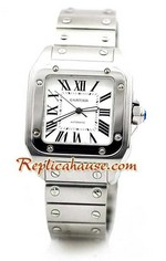 Cartier Santos 100 Replica Watch 06