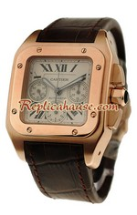 Cartier Santos 100 Swiss Replica Watch 15