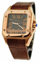 Cartier Santos 100 Swiss Replica Watch 16