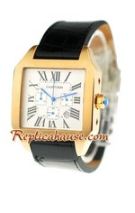 Cartier Santos 100 Replica Watch - Quartz 2