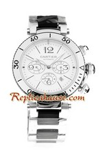 Cartier Pasha Seatimer Chrono Watch 01