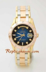 Rolex Replica Day Date Three Tone Watch 1