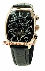 Franck Muller Conquistador Pink Gold Replica Watch 02