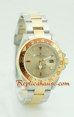 Rolex Replica GMT Two Tone Watch 2