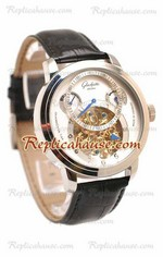 Glashutte Panaomatic Regulator Tourbillon Replica Watch 02