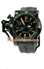 Graham Oversize Chronofighter Divers Swiss Watch 08