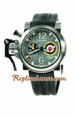 Graham Chronofighter Oversize Mark III Swiss Watch 01