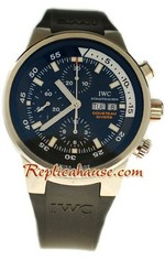 IWC Aquatimer Chronograph Cousteau Divers Swiss Replica Watch 1